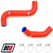 Samco Top & Bottom Red Radiator Hose Kit Subaru Impreza STi WRX STI 01-07